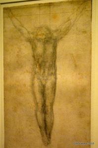 Cristo, por Michelangelo