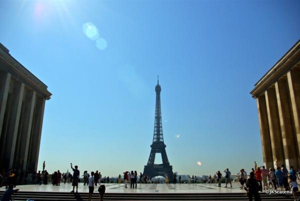Trocadéro & Eiffel Tower