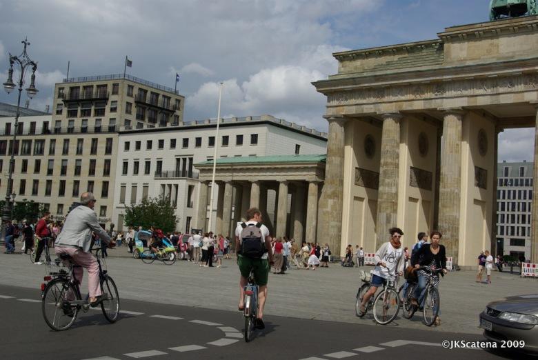 Bike no Portão de Brandemburgo