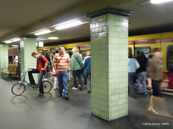 De bike no Metrô