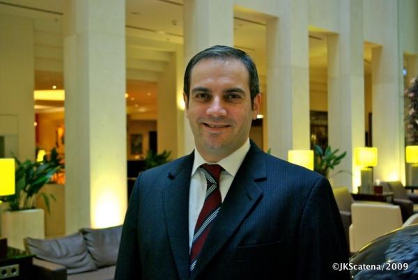 Thomas Guss, Gerente Geral do Marriott Berlim
