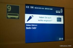 Chegando em Berlim – pegou sua bagagem?