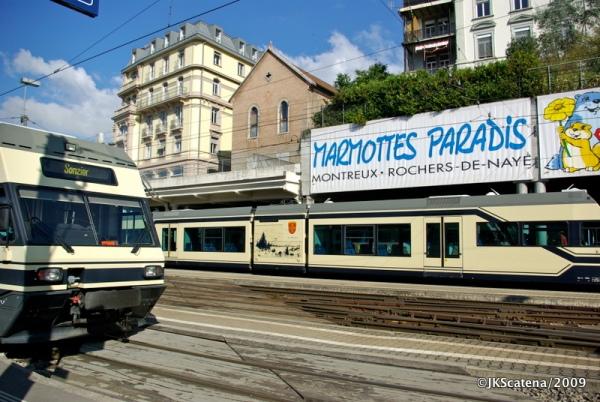 Estação de trem de Montreux
