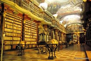 Biblioteca barroca do Klementinum