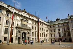 Pátio de entrada do Castelo