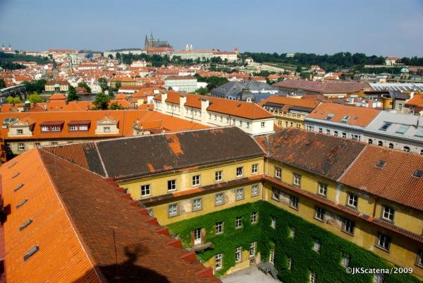 Vista da Torre Astronômica: Castelo de Praga
