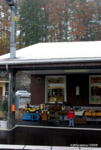 A neve já começa a cobrir as estações
