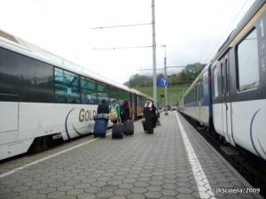 Troca de trens em 7 minutos: só na Suíça…