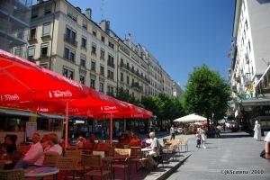 Genebra - Compras - Rue Mont-Blanc