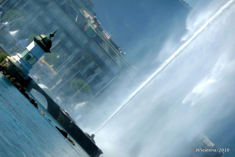 Genebra - Jet d'Eau - Inclinado