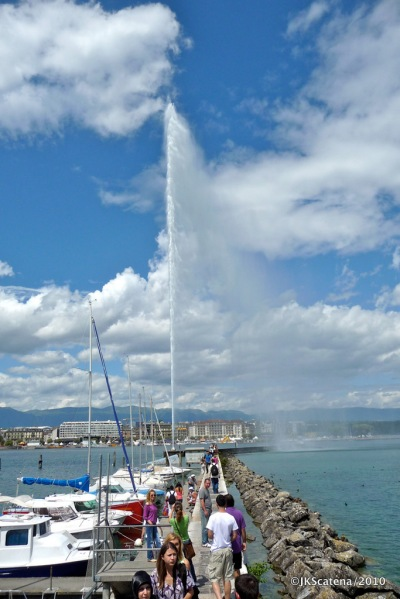 Genebra - Jet d'Eau Pier