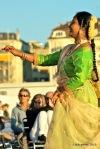 Genebra - Paquis - Dançarina e Plateia