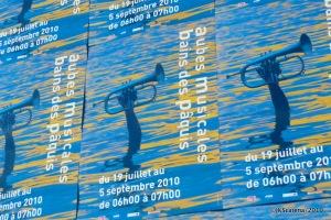 Genebra - Paquis - Poster