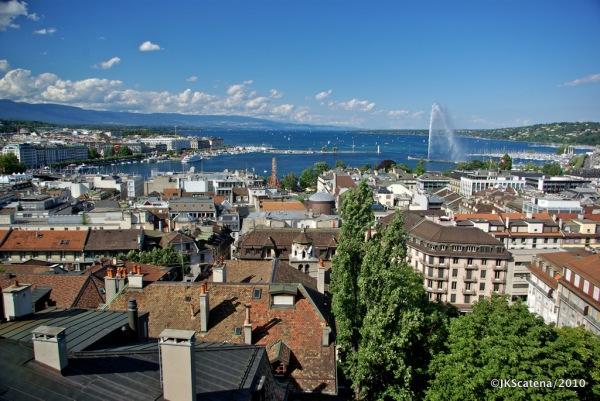 Genebra - Vista Catedral