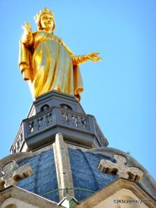 A Virgem Dourada de Fourvière