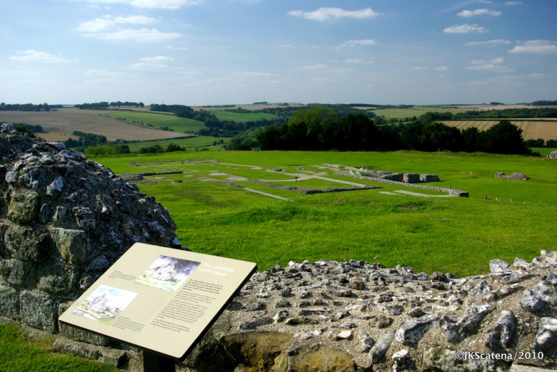Old Sarum: Cathedral
