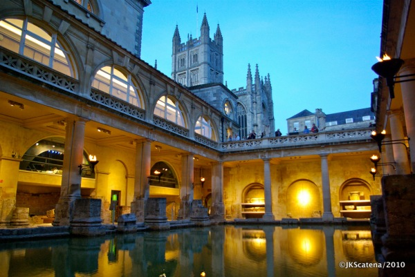 Romans Baths: Pool