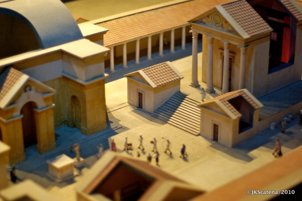 Romans Baths: Model
