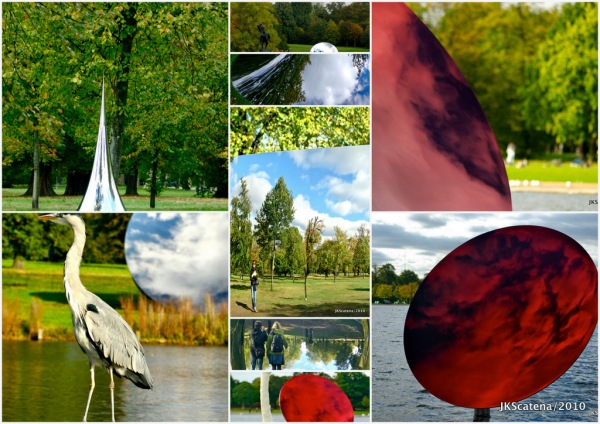 London: Anish Kapoor @ Kensington Garden, Collage