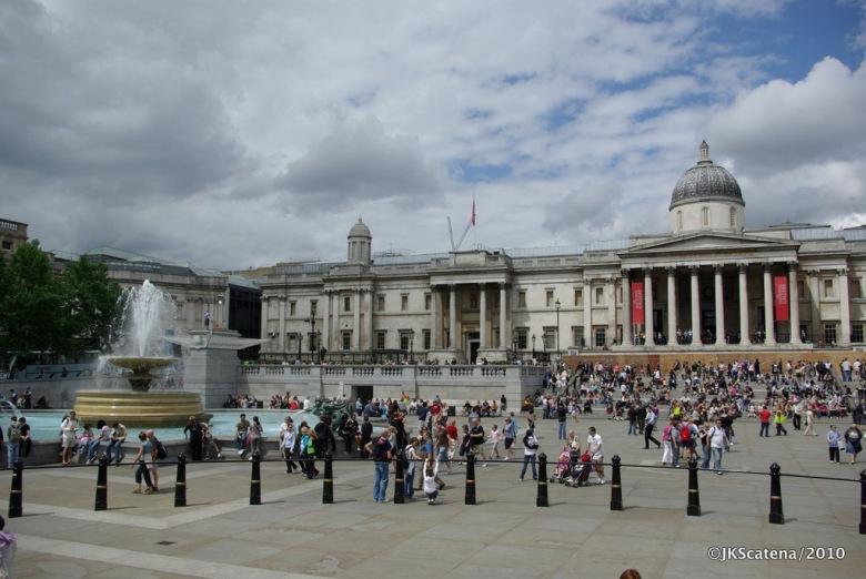 London: National Gallery at Trafalgar Sq