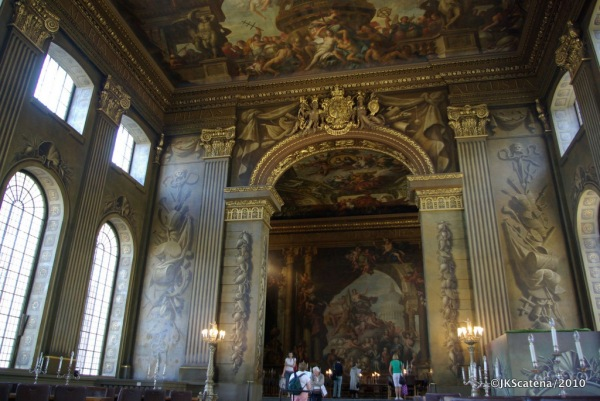 London: Painted Hall, Old Royal Naval College