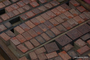 London: Portobello Market - Block Stamps