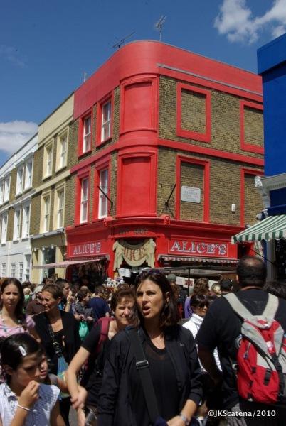 London: Portobello Market - Overview