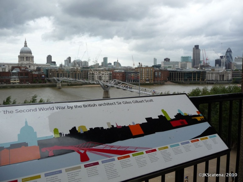 Tate Modern Terrace View