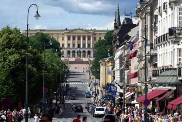 Oslo: Karl Johans Gate