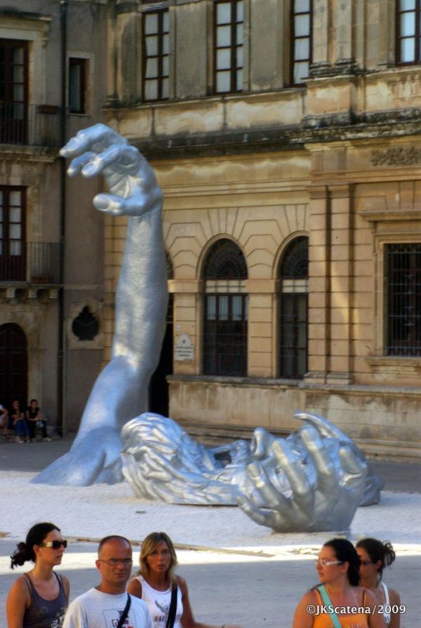 Sicilia: Siracusa, Piazza del Duomo