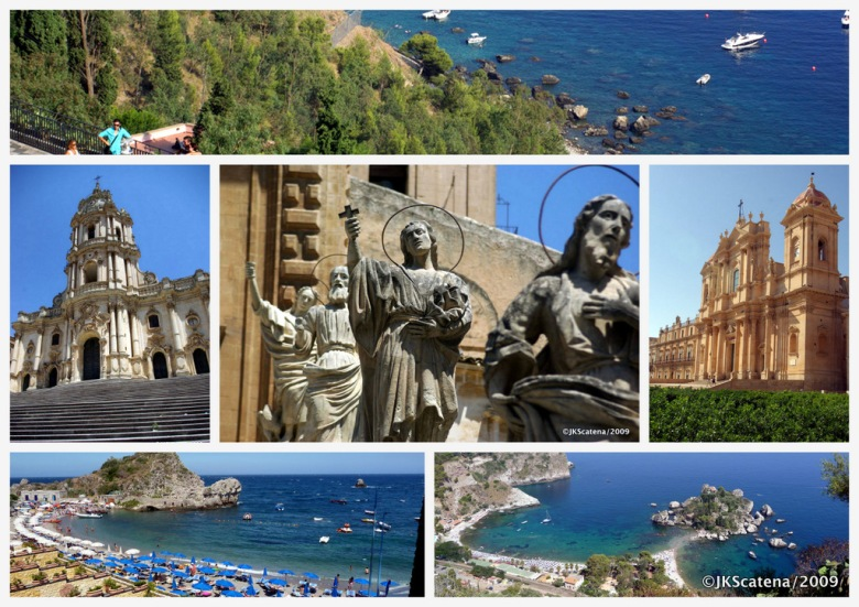 Sicily: Collage