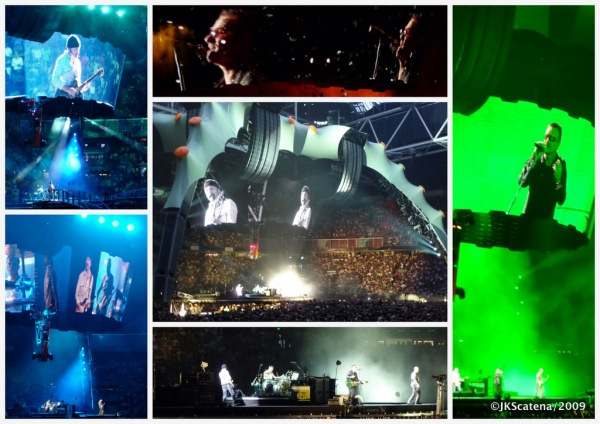 U2: Amsterdam 2009 - Collage