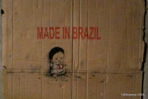 London: Marks & Stencils Shop, Made in Brazil