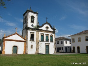 Paraty, Brazil: Church