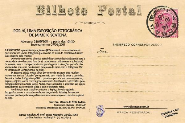Postal - Por Aí, Verso (Original)