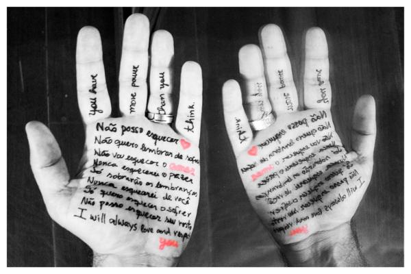 Não quero esquecer (II), after Shirin Neshat
