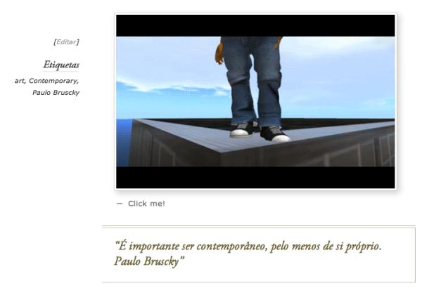 sEres ContemporâneOs, para Paulo Bruscky