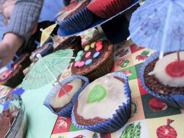 Cupcakes da Mariá, devidamente decorados