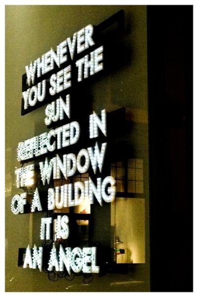 Angel @ Window | New York | Jaime Scatena