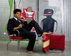Basquiat by Lizzie Himmel, 1985