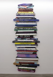 Aira Kang: Pile of books (vertical)