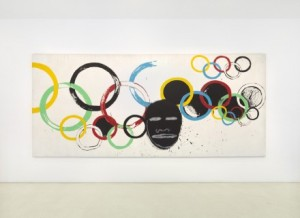 Warhol & Basquiat: Olympic Rings (1985)