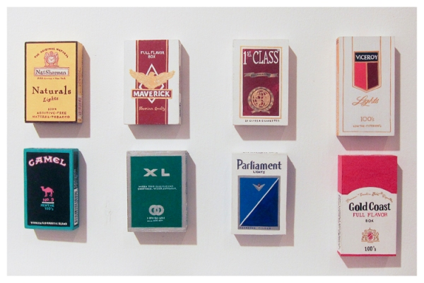 Cigarette Packs (John Slaby)