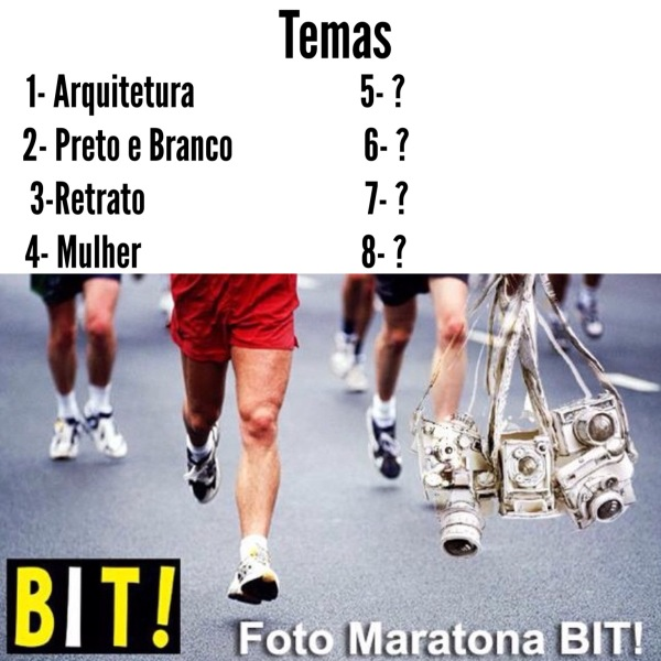 FotoMaratonaBIT: Temas 1 a 4