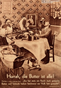 """Hurrah, die Butter ist alle!"", John Heartfield (1935)"