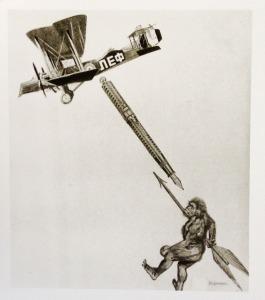 fotomontagem p/ LER nº3, Rodchenko (1923)