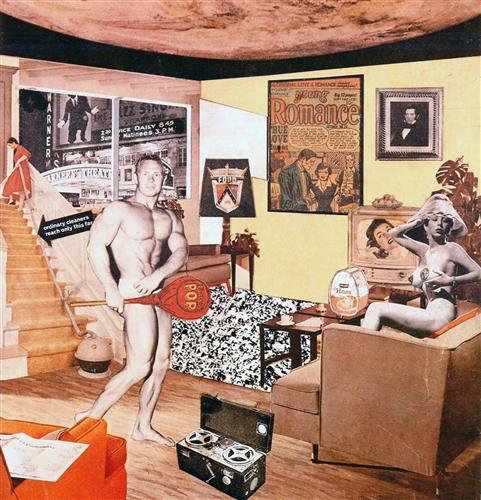 Just what is it that makes today's homes so different, so appealing?, Richard Hamilton (1956)